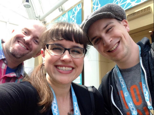MozCon 2014 Friends! Zeph Snapp, Lauren Hall-Stigerts, Joel Klettke